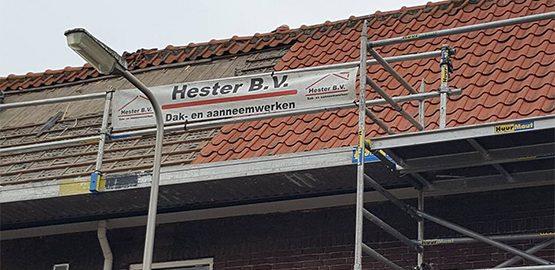 dakdekker nabij Leiden